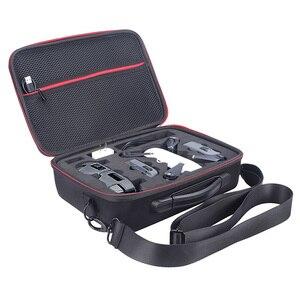 Image 2 - 2018 nueva funda de Dron portátil EVA carcasa dura bolsa de hombro de almacenamiento bolsas caja de mango para DJI Spark Drone Accesorios