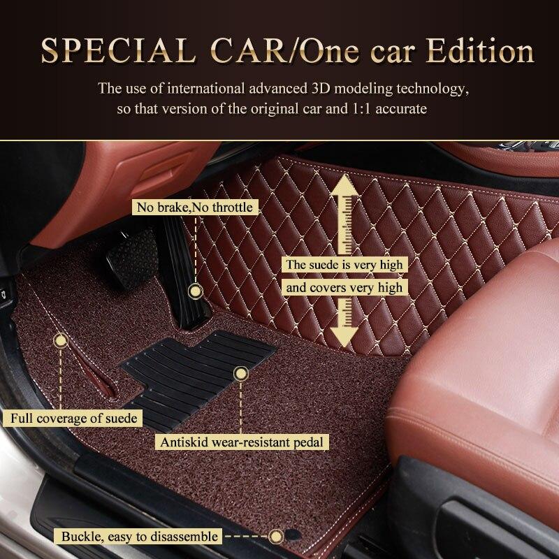 Кожаный задний багажник крышка грузового лайнера багажник лоток коврики для TOYOTA ALIPHARD PRADO LAND CRUISER ZELAS SEQUOIA SIENNA VENZA