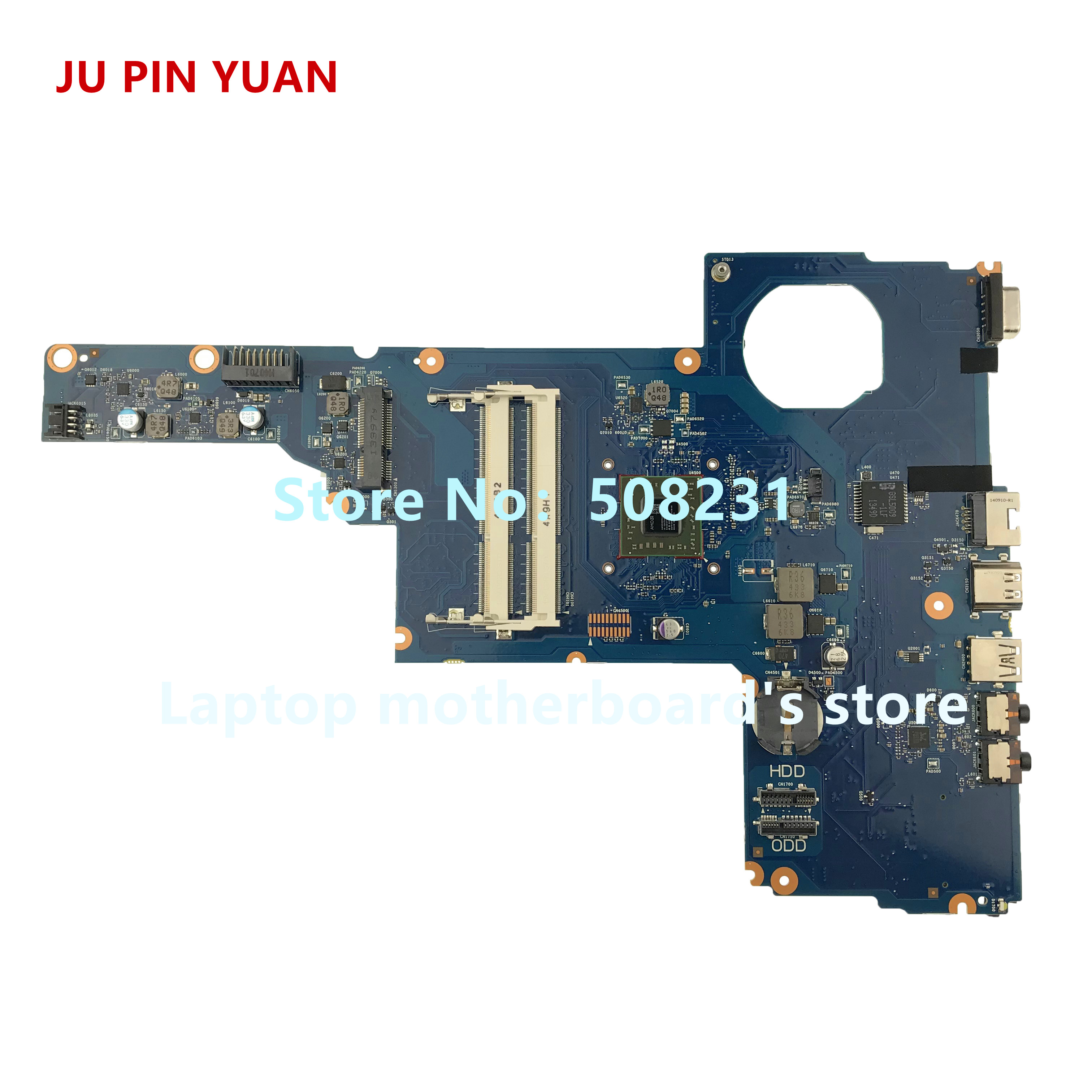 JU PIN YUAN 730671-601 730671-501 For HP 250 255 G1 Laptop Motherboard With A4-5000 TOBIN13-6050A2562701-MB-A02 fully TestedJU PIN YUAN 730671-601 730671-501 For HP 250 255 G1 Laptop Motherboard With A4-5000 TOBIN13-6050A2562701-MB-A02 fully Tested