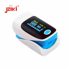 JZIKI medical household portable digital fingertip pulse oximeter blood oxygen saturation meter finger SPO2 PR monitor