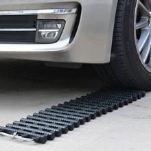 Автомобильный Противоскользящий портативный гусеничный Автомобильный держатель для шин для восстановления треков, коврик для тяги, Песочная лестница