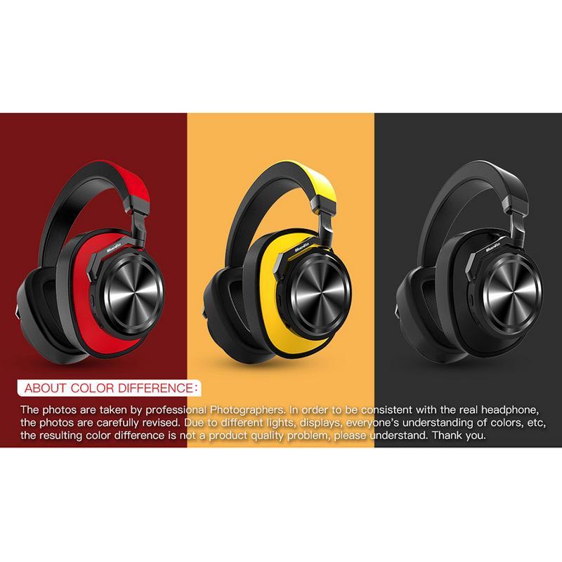 Casque sans fil pour Bluedio T6 réduction Active du bruit casque sans fil casque Bluetooth sport musique casque