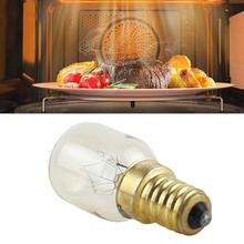 5 PCS T25 E14 25W Microwave Oven Bulb High Temperature Resis