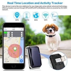 Image 4 - Ошейник для домашних животных, водонепроницаемый IP67 GPS трекер для домашних животных, кошек, крупного рогатого скота, Wi Fi, LBS