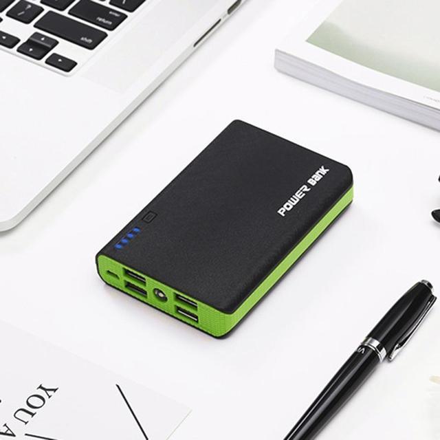 2A ячейки 18650 5 4 3 1 внешний Комплект Дело Мощность 11 0 Box 7 4, 8 5 V Зарядное устройство DIY Мобильный Батарея 3 см банк 2A 4 9 дюймов DC 2 Батарея случае