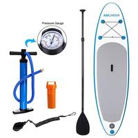 Single layer Surf Board Inflatable Sup Stand Up Paddle Board Wakeboard Bodyboard Sup Board Surfing SurfBoat 30'' width 3 fins