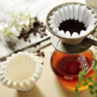 Adeeing 1000pcs Leak trough Cake cup Shape Coffee Filter Paper