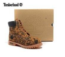 Timber LAND мужские ботильоны martin с камуфляжным леопардовым принтом   мужские повседневные ботинки из натуральной кожи на выхо. 49ef0162538