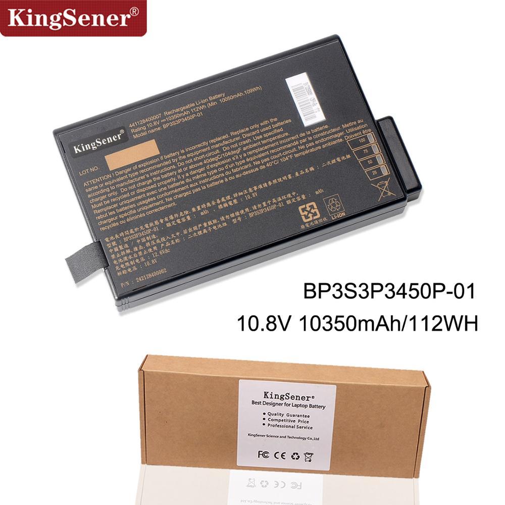 KingSener 10.8V 10350mAh Laptop Battery For Getac X500 V100 V1010 V200 M230 BP-LP2900/33-01PI BP3S3P3450P-01 441128400007 112WH