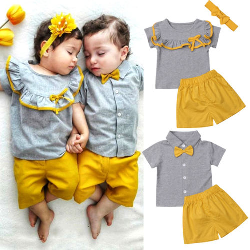 2019 Latest Design Mermaid Sister Brother 2019 Cute Baby Girls Boy Romper Jumpsuit Outfits Sunsuit For Newborn Infant Children Clothes Kid Clothing Mother & Kids