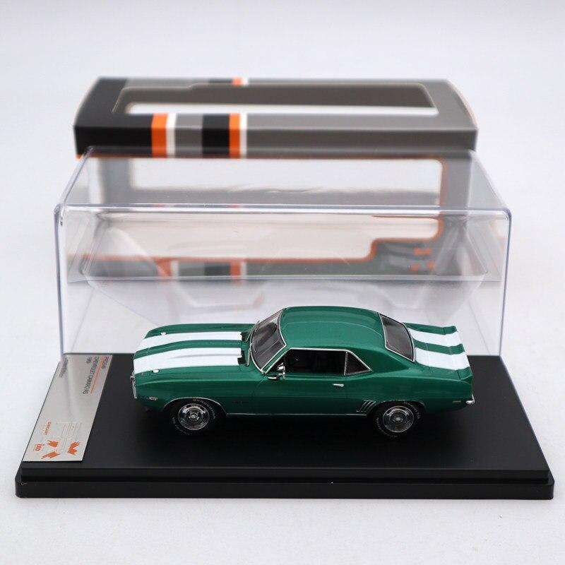 Premium X 1:43 Chevrolet Camaro RS 1969 vert métallisé PRD549 modèles moulé sous pression série limitée Collection jouets voiture