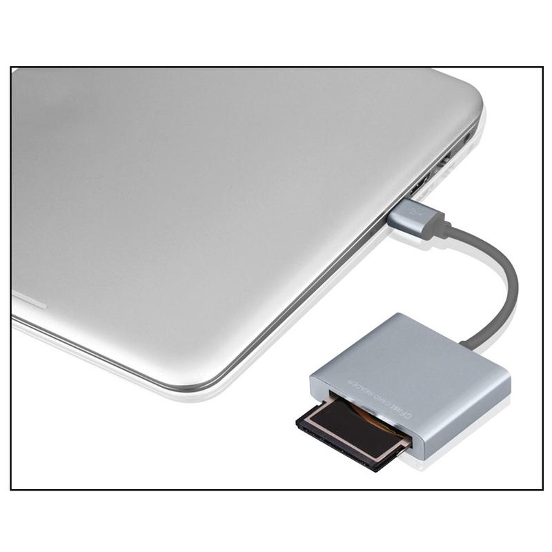 Fully Compatible High USB 3.0 To CFast Card Reader Adapter Speed 3.0 Card Reader CFast 2.0 Card Reader