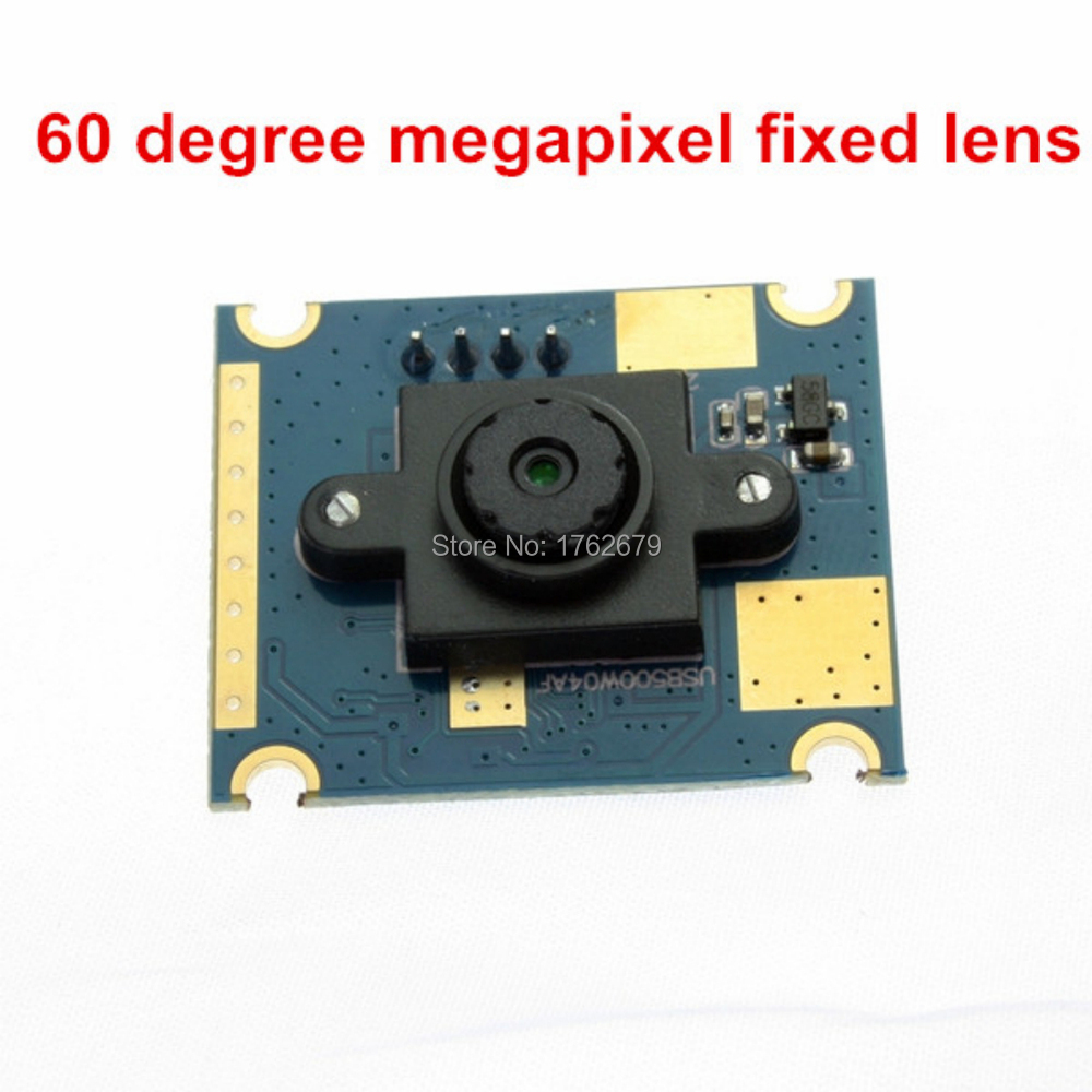 60 Degree Fixed Lens 5MP 2592X1944 USB Micro Camera Module CMOS OV5640 MJPEG endoscope USB 2