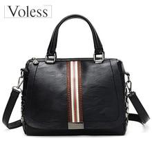 Women Handbag Luxury Rivet Design Casual Tote Lady Shoulder Crossbody Bags Leather High Quality Tophandle Bolsa Feminina