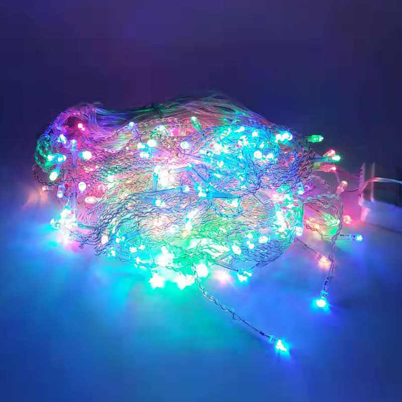 Turquoise Christmas Lights.10x0 65 8x0 65 6x1 5x0 8m Led Icicle Curtain Light String Fairy Holiday Christmas Lights Garland Party Garden Wedding Decoration