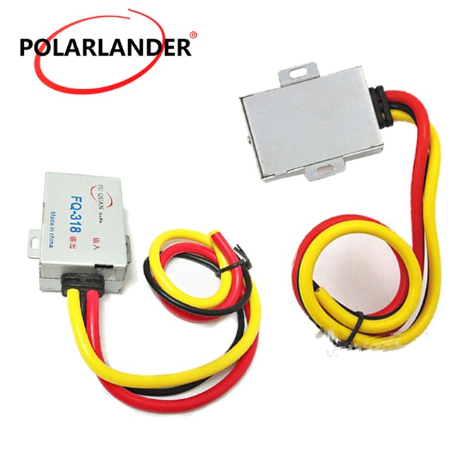 Best Offers For Stereo DVD Aluminum Shell DC 12V Power Cable Car Audio Filter GPS Head Unit Amplifier Noise Suppressor Reducer