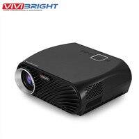 Original VIVIBRIGHT GP100 Projector Full HD 3200 Lumen 1080P WiFi LED LCD Home Theater Cinema Video Projector NEW