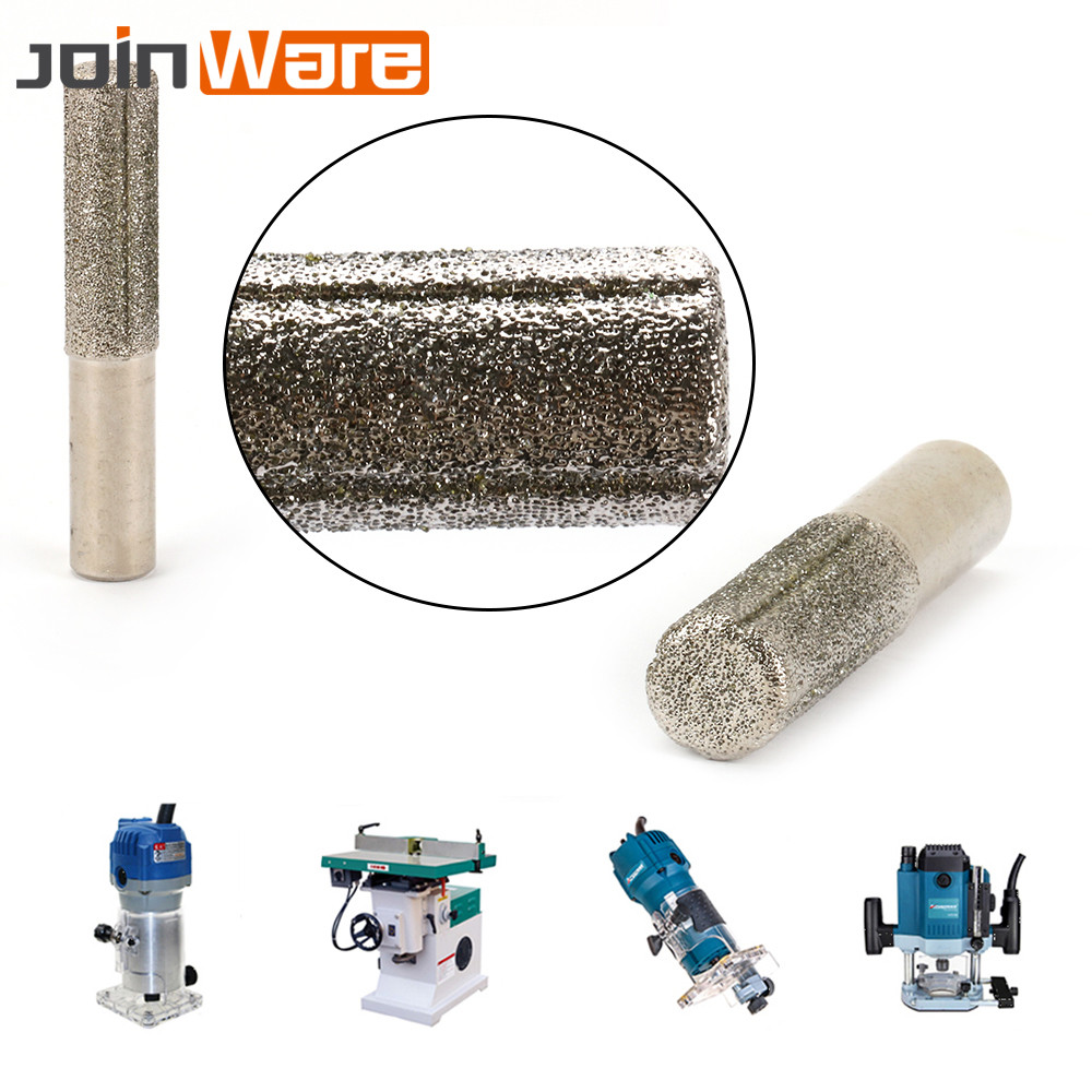 3'' 60# Diamond Brazed Profile Wheel Router Bit For Granite Glass Metal Marble Jewelry Shank 13mm 1/2'' New 75mm
