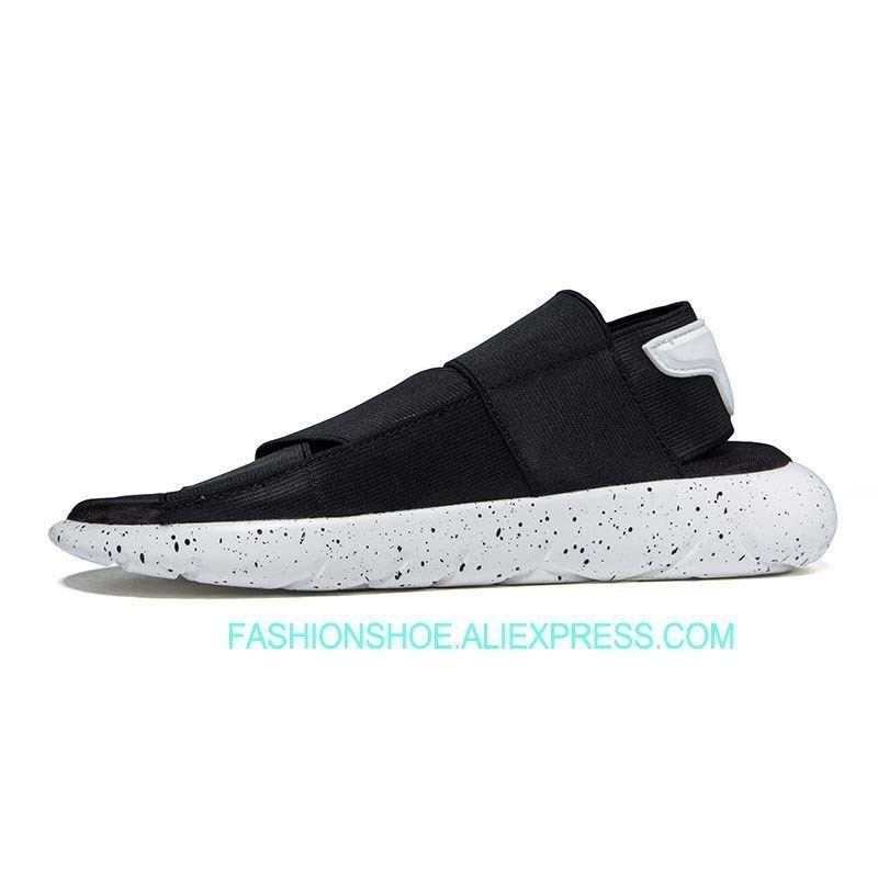 df5c802951c4 2018 Summer New Y3 Sandals Men and Female Couple Beach Slippers Fashion  Elastic Fabric Student Casual Shoes-in Men s Sandals from Shoes on  Aliexpress.com ...