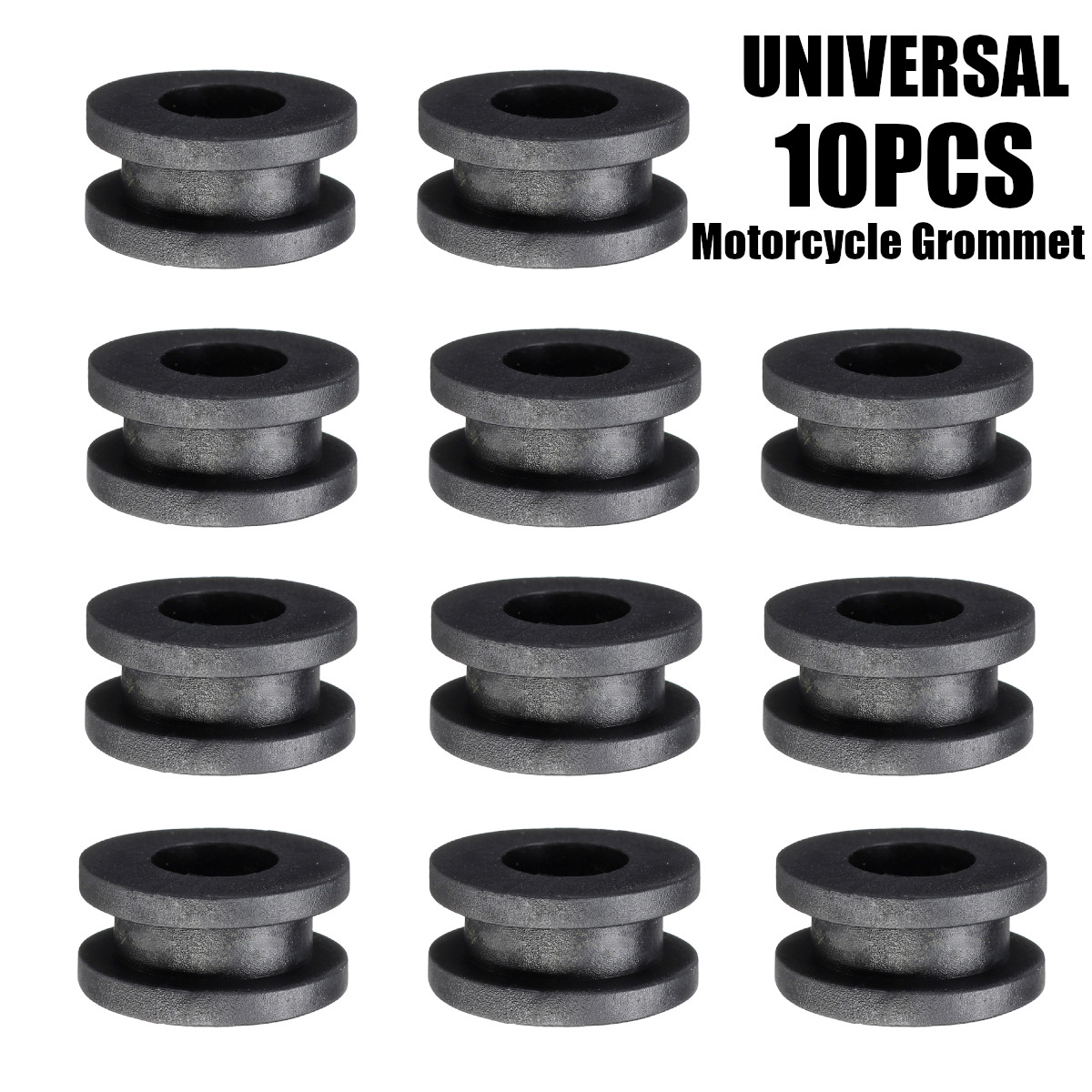 10Pcs Motorcycle Side Cover Rubber Grommets Gasket Fairings For Yamaha For Honda For Kawasaki For Suzuki CBR GSXR Ninja ZX YZF(China)