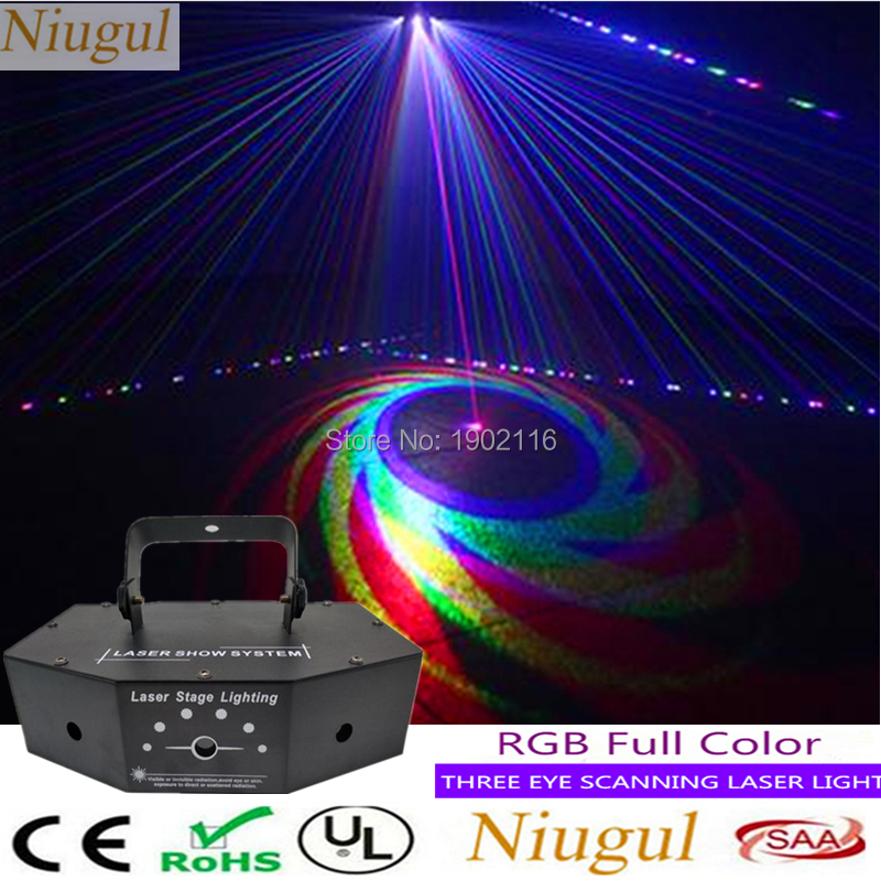 3 Lens RGB Scanner Laser Light With Patterns /Sector Scanning Laser/DJ Show Club Holiday Home Party Beam Effect Stage Lighting3 Lens RGB Scanner Laser Light With Patterns /Sector Scanning Laser/DJ Show Club Holiday Home Party Beam Effect Stage Lighting