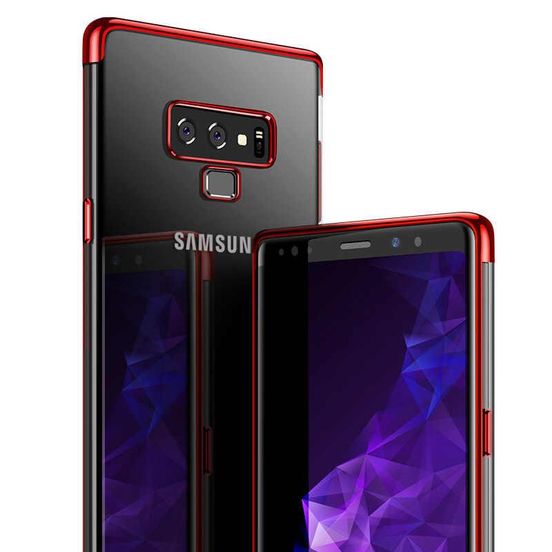 クリアサムスンギャラクシー A9S A6S A750 A8 A6Plus 2018 ソフト TPU 電話バッグ用 Note9 8 s9 プラス S8 プラスカバー