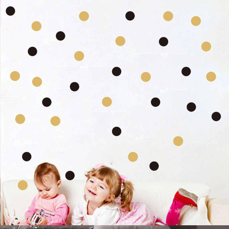 Style nordique Point étoile Triangle enfants enfants chambre décoration autocollant mural Collection 21 vinyle Protection de l'environnement