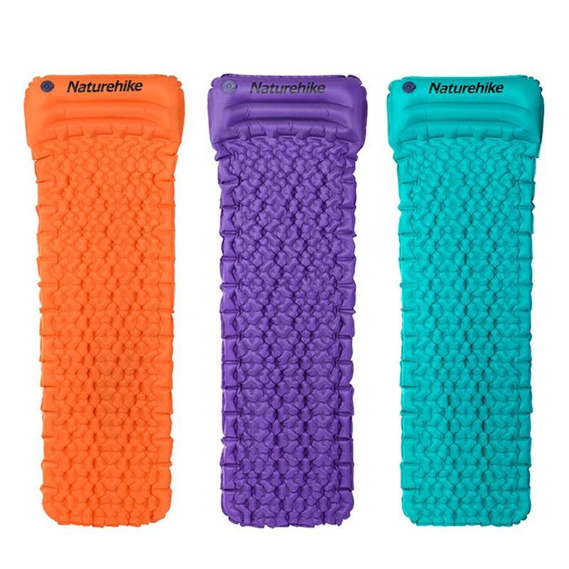 Naturehike Outdoor Inflatable Cushion Sleeping Bag Outdoor Inflatable Cushion Sleeping Bag Fast Filling Air Moistureproof Mat