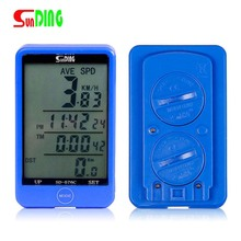 Bike Stopwatch Computer Back light Wired Waterproof Touch Screen Bicycle Speedometer Odometer Light