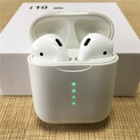 Mini Bluetooth Earphone i10 Tws Wireless Bluetooth Headset For Phone Earbuds Running Sport Earbuds For IPhone Xiaomi i 10 tws