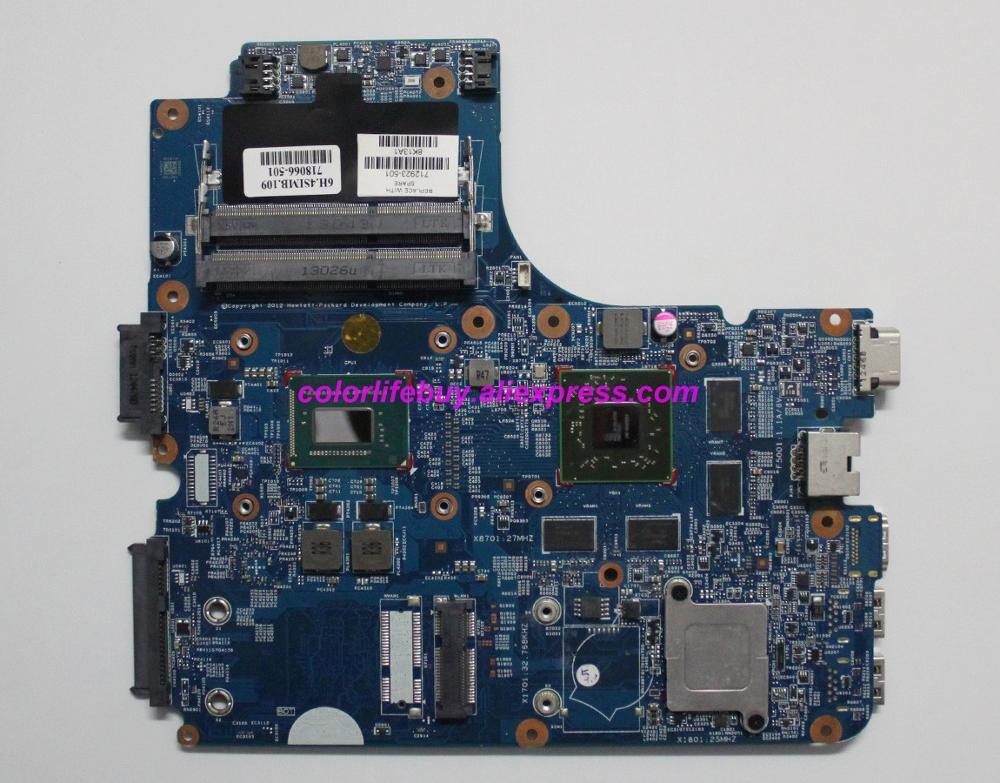 Genuine 712923-001 712923-501 w I3-3110M 216-0833002 7650M/1GB Laptop Motherboard for HP ProBook 4441S 4540S NoteBook PC