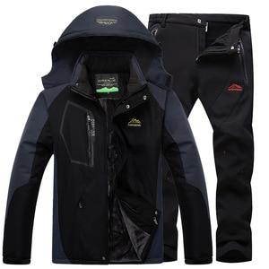 Plus Size 5XL Waterproof Winte