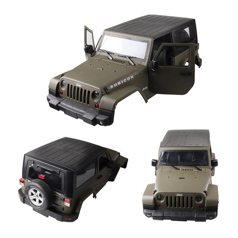 1:10 RC весы грузовик восхождение автомобиль Жесткий средства ухода за кожей в виде ракушки для джип Wrangler матовая 3 цвета Модель интимные аксе
