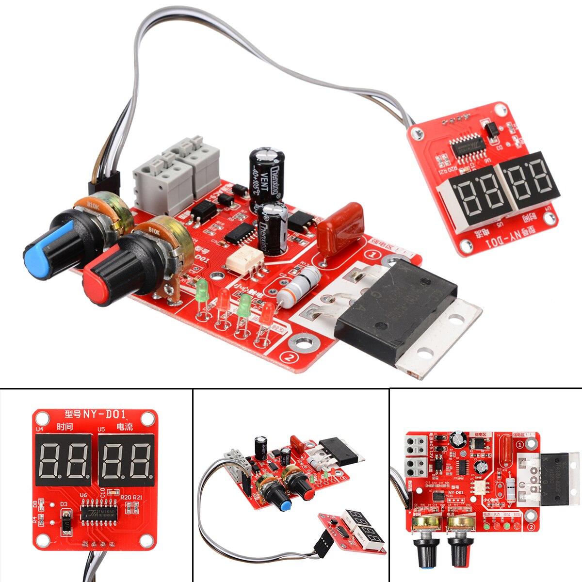 Placa de Controle Da Máquina de Solda a Ponto NY-D01 100A Solda a Ponto De Máquina do Tempo Atual Painel de Controle do Controlador Módulo Board