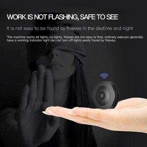 Image 4 - Mini caméra de surveillance extérieure ip Wifi H6, dispositif de sécurité sans fil hd, avec résolution nocturne, enregistrement vocal et vidéo