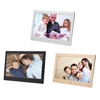 10 Inch Metal LED Digital Photo Frame Video Music Calendar Clock Player 1024x600 Resolution r20