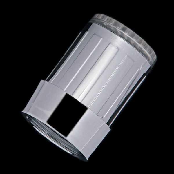 3 colores brillo cocina grifo cascada LED luz agua grifo Sensor de temperatura con adaptador