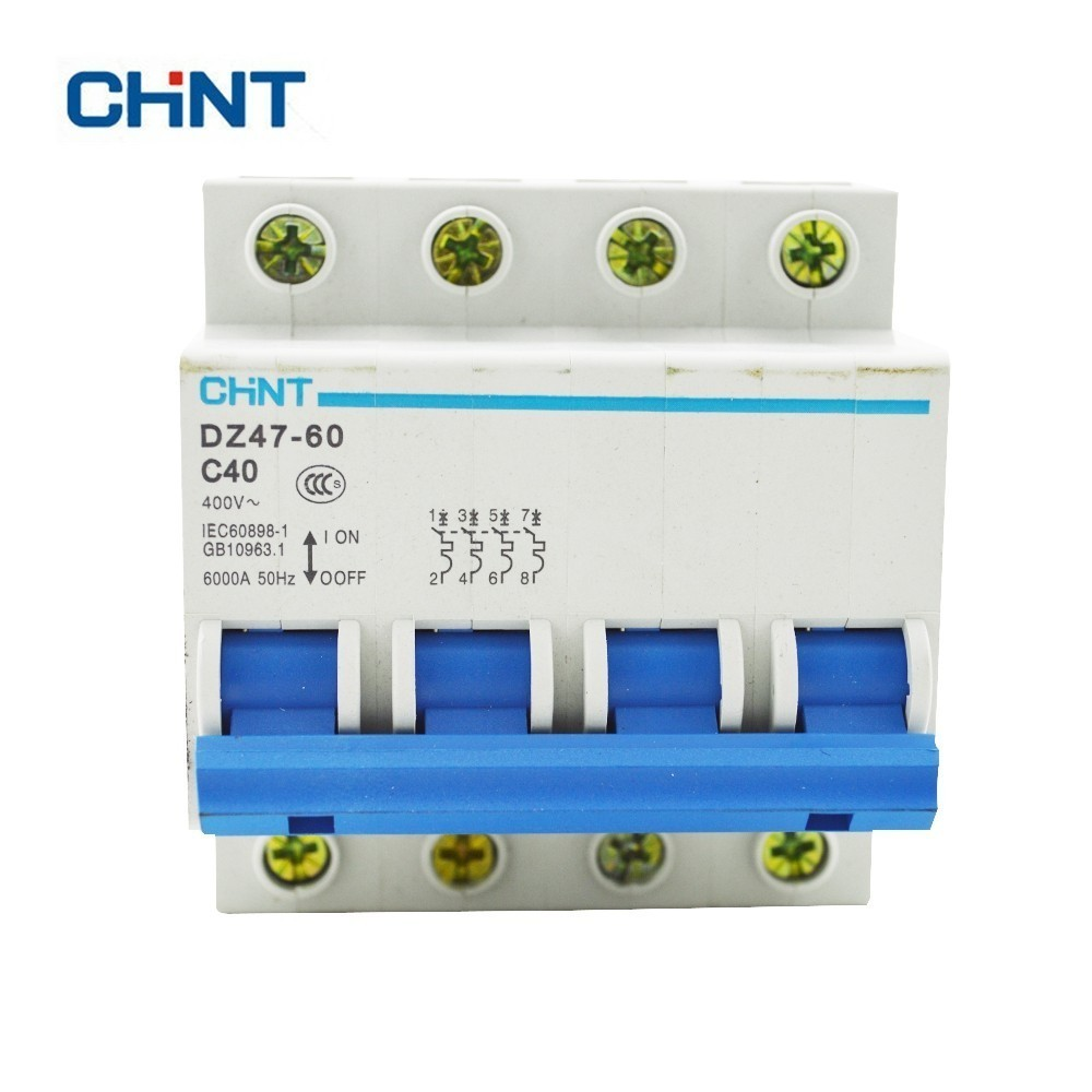 CHINT Circuit breaker Miniature Circuit Breaker DZ47-60 C Type 3 Amp 230//400V~