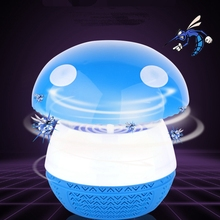 Электроника ловушка для летающих насекомых моли муха ОСА светодиодная Ночная лампа Жук инсектицидная лампа черный Killing «электронная мухобойка» US Plug