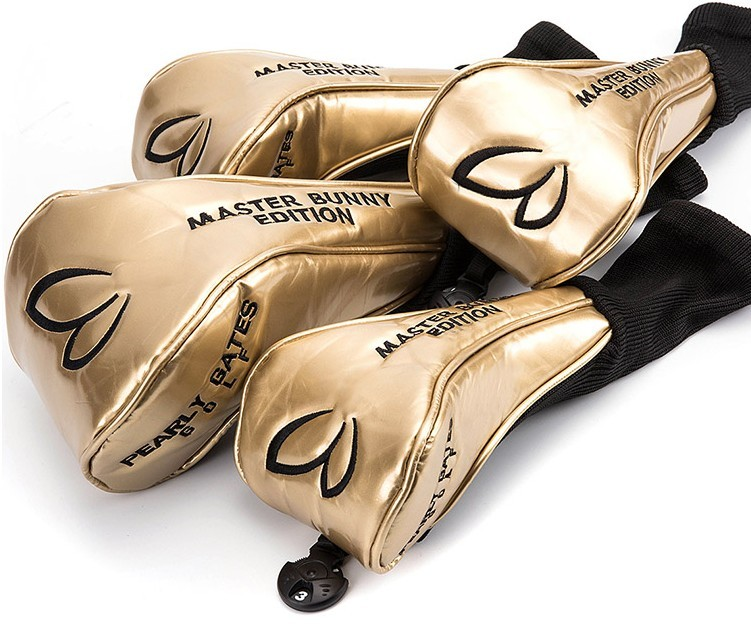 NEWEST Custom Design   GOLF HEAD COVER SWoods1# #3 #5 AND Putter Clubs Headcovers 4 PCS/LOT FREE SHIPPING