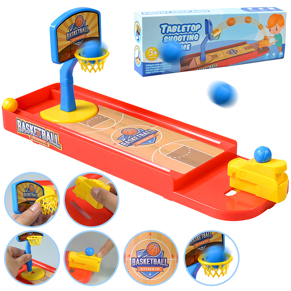 Shooting Basketball Toys Finger Shooting Machine Desktop Games Kids Toy Training Interest Toys For Children Boy  Birthday  Gifts