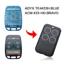 ADYX TE4433H כחול ADYX 433 HG בראבו שלט רחוק 433.92mhz שער מוסך דלת ADYX שלט רחוק 433MHz