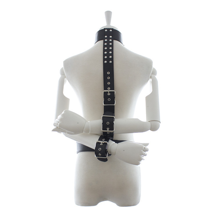 <font><b>Sexy</b></font> Handcuffs Wrist Tied Hand Bondage For Couples Adult <font><b>Lingerie</b></font> Erotic Toys Rope Hand Cuffs Neck Collar Women <font><b>Men</b></font> Nightwear image