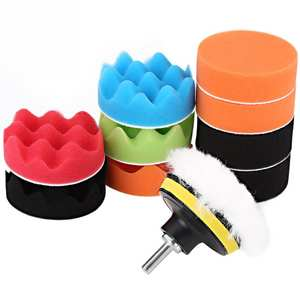 12 Pcs 3 Inch Car Polishing Pads for Car Polisher Buffing Car Accessories