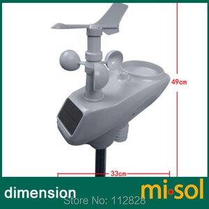 Image 3 - MISOL/מזג אוויר תחנת עם RS485 נמל, 4 חוטים כבל, עם כבל אורך (10 מטר)