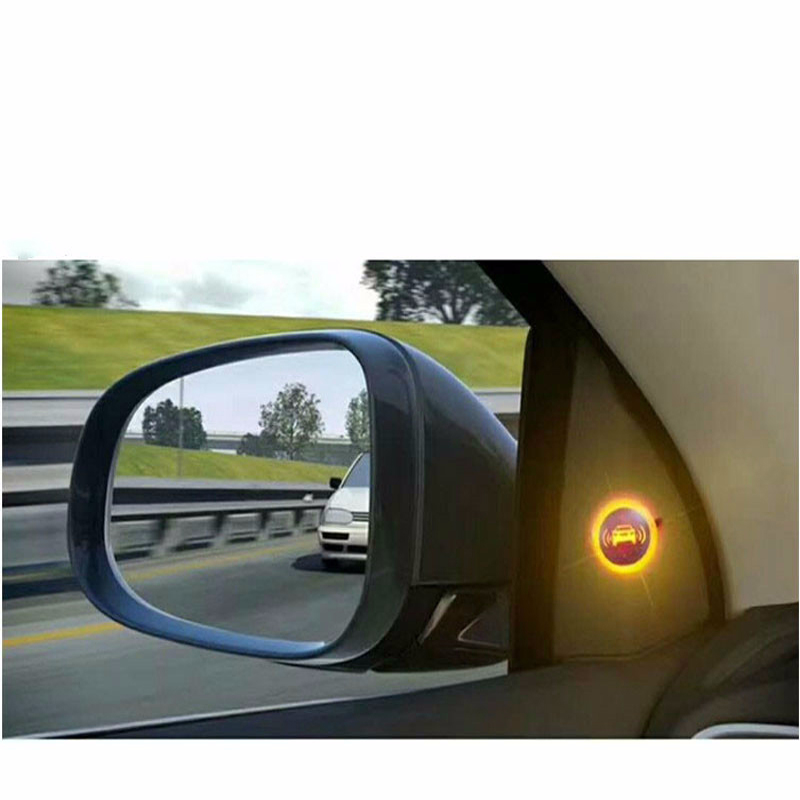 Newest Car Blind Spot Mirror Radar Detection System BSD BSA BSM Microwave Blind Spot Monitoring Assistant Car Driving Security door wireless with monitor