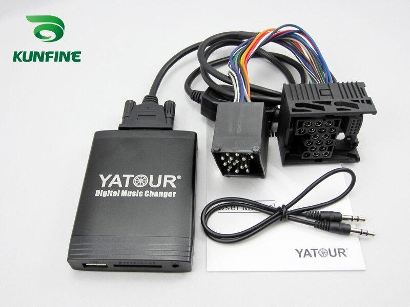 SITAILE Автомобильный MP3 плеер Bluetooth A2DP адаптер для Renault 8pin 12pin Clio Avantime Master Modus Scenic Traffic Interface - 3