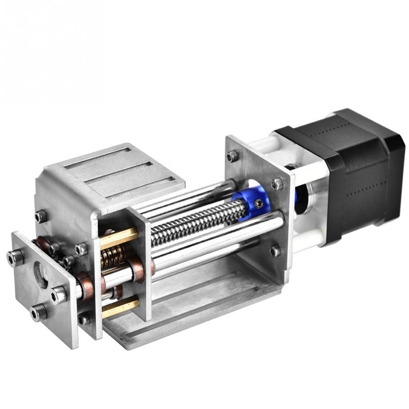 12V 60mm Milling Linear Motion Guide Rail Z Axes Slide Guide for Woodworking Tools CNC Engraving