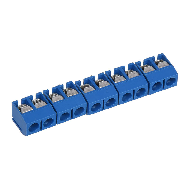 5 Pcs 2P 5mm Pitch PCB Screw Terminal Block Connector in Connectors from Lights Lighting