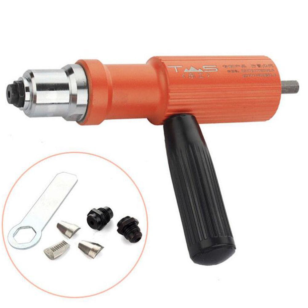 Asypets Electric Insert Rivet Nut Gun Riveting Drill Tool